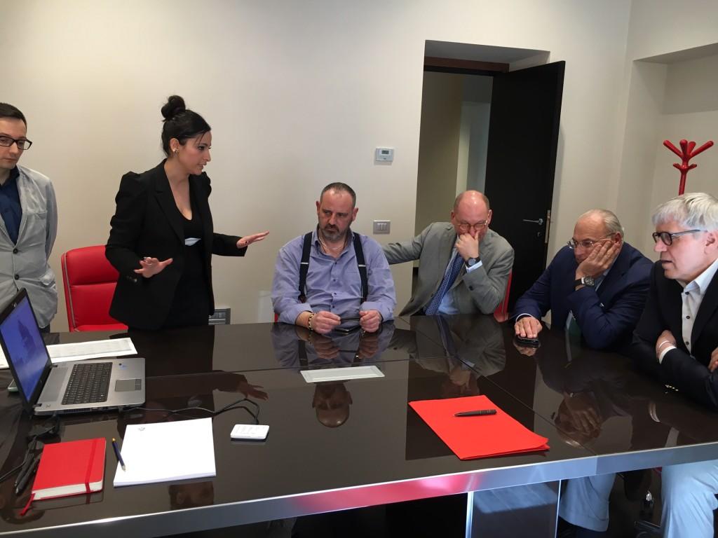 Presentazione della Prima Bozza Sito web della Nuova Todini Costruzioni Generali SpA